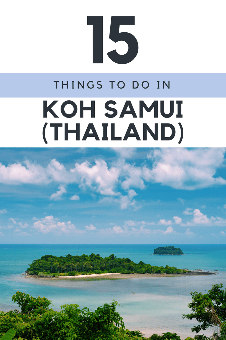 15 Things to do in Koh Samui Thailand