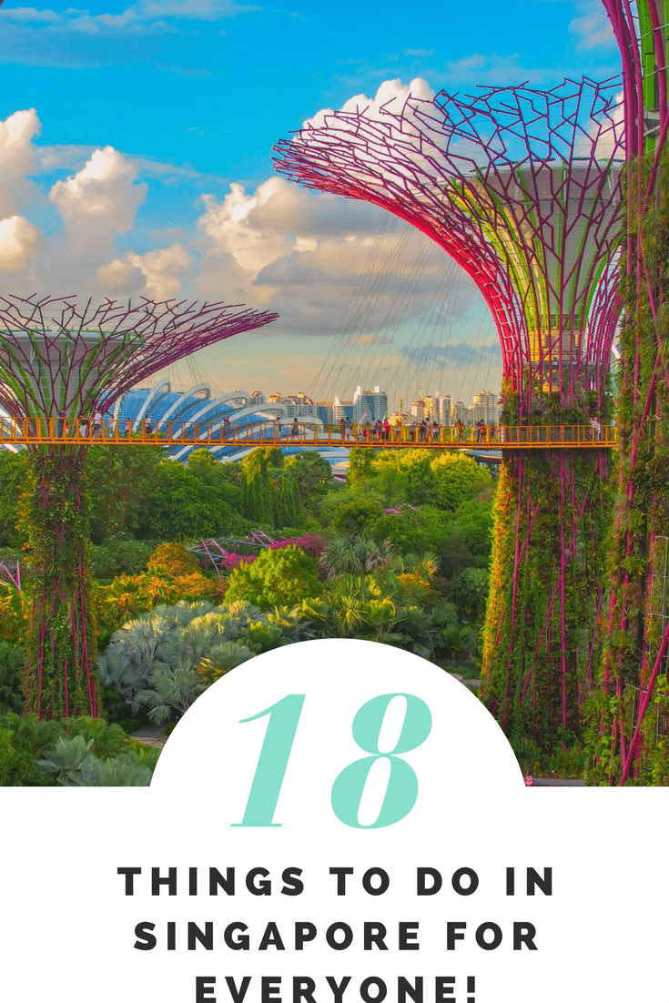 18 Things to Do in Singapore for Everyone!