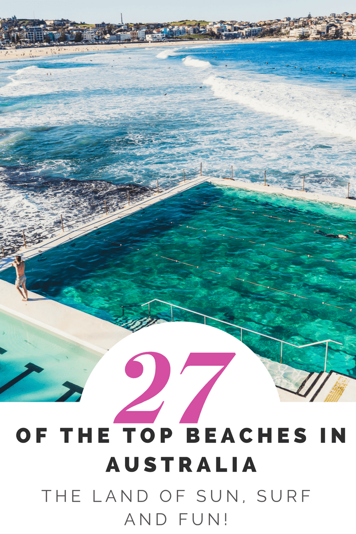 27 of the Top Beaches in Australia – The Land of Sun, Surf and Fun! Australia has approx. 10,685 beaches, that's a shit tonne of beaches however if you think about it, Australia is its own continent surrounded by the ocean so its not surprising that we have a lot of beaches. Here are 27 of the of the very best beaches in Australia by state to make it easy for you to tick them off your Australian Bucket list… one by one!