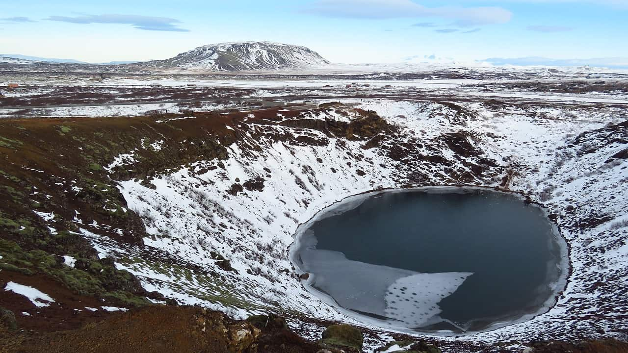 Kerid Crater Lake - 15 Remarkable Things to see and Do in Iceland