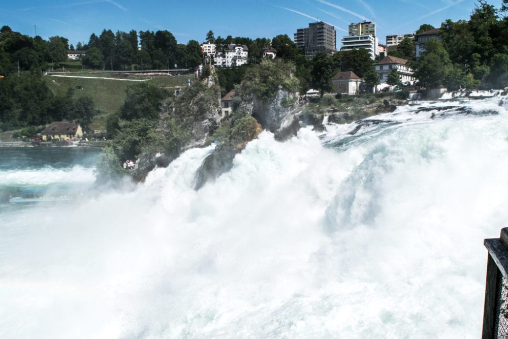 Rhine Falls in Switzerland - 10 of the Best things to do in Switzerland in the summer