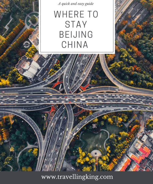 Where to stay Beijing China - Quick and Easy Guide. The sheer size of Beijing means that there is a wide variety of things to do, places to see and places to stay. Beijing is rich in culture and history and several popular areas of the city reflect this, such as Qianmen and Wangfujing.
