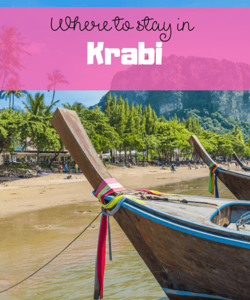 Where to stay in Krabi as a first time visitor