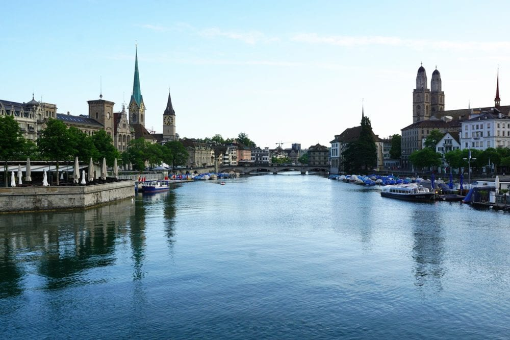 Zurich - 10 of the Best things to do in Switzerland in the summer