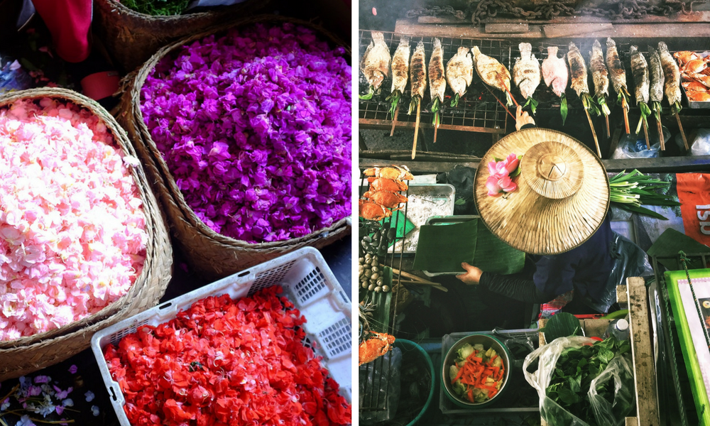 Bali markets vs Thailand markets