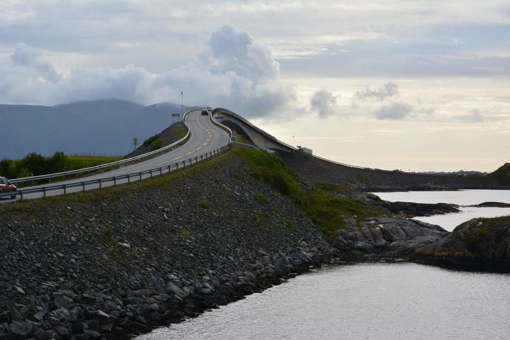 Noray Atlantic Ocean Road - Norway in a Nutshell - 22 Things to do and places to visit in Norway