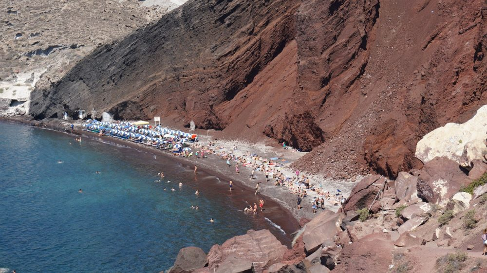 Read Sand Beach Santorini - 16 Astonishing Things to do in Santorini - Greece Travel Guide