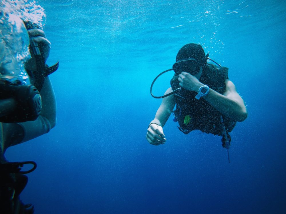 Scuba Diving Santorini - 16 Astonishing Things to do in Santorini - Greece Travel Guide