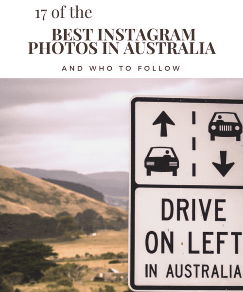 17 of the Best Instagram photos in Australia & who to follow!