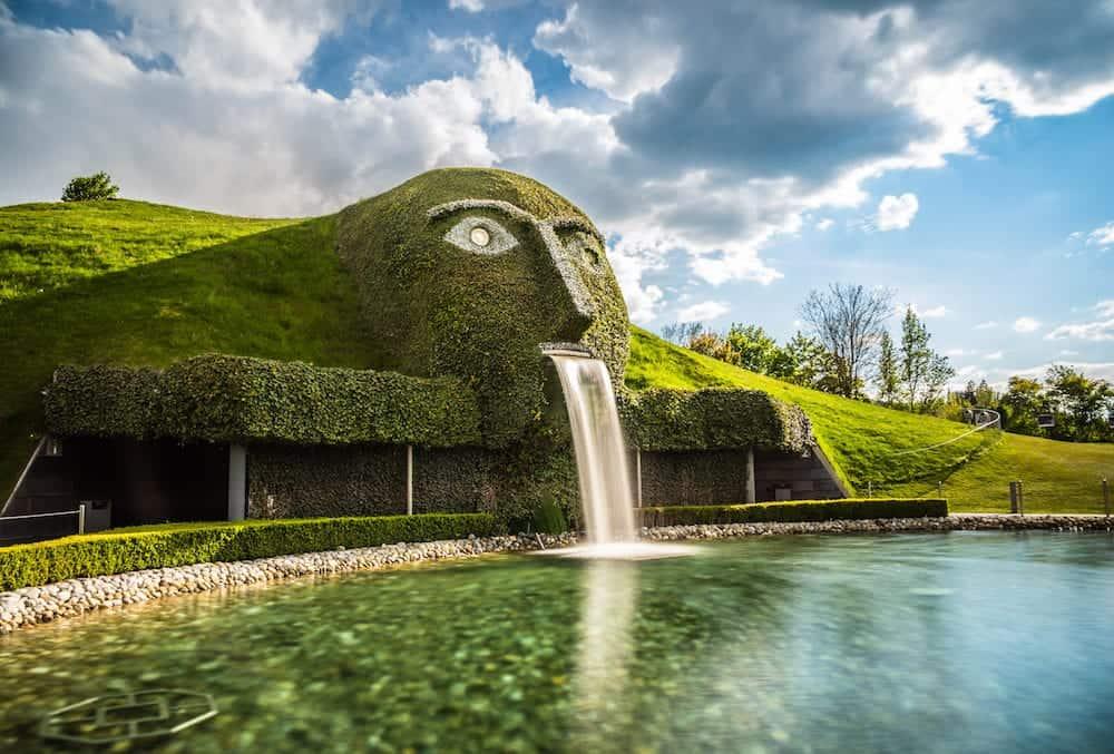 Park of Swarovski World Innsbruck - Austria