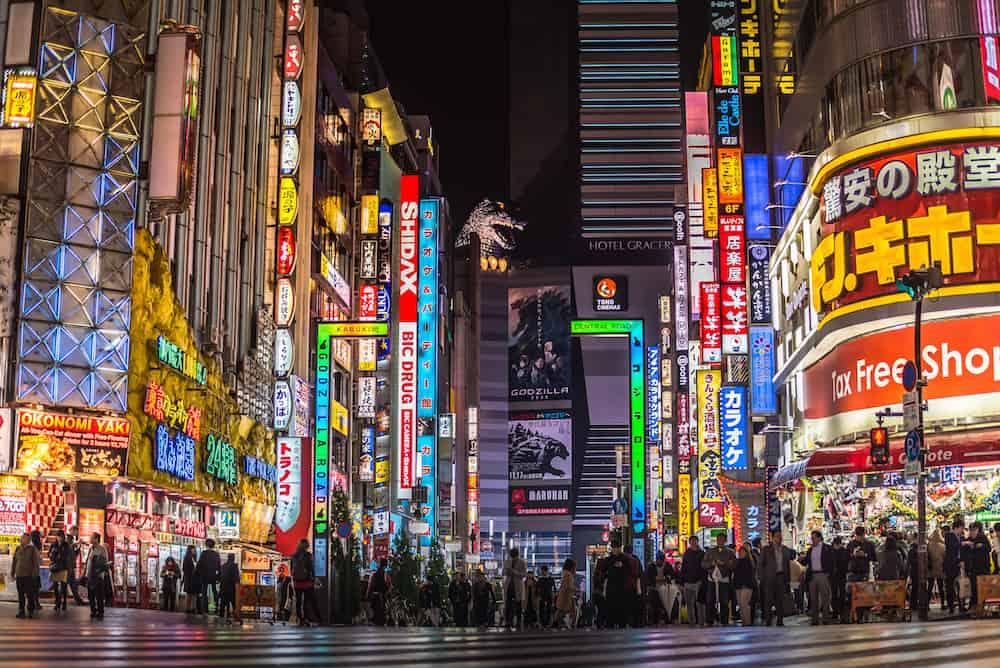 Tokyo Japan - Famous steet Piss Alley delicious street food in Tokyo Japan at Omoide Yokocho Shinjuku