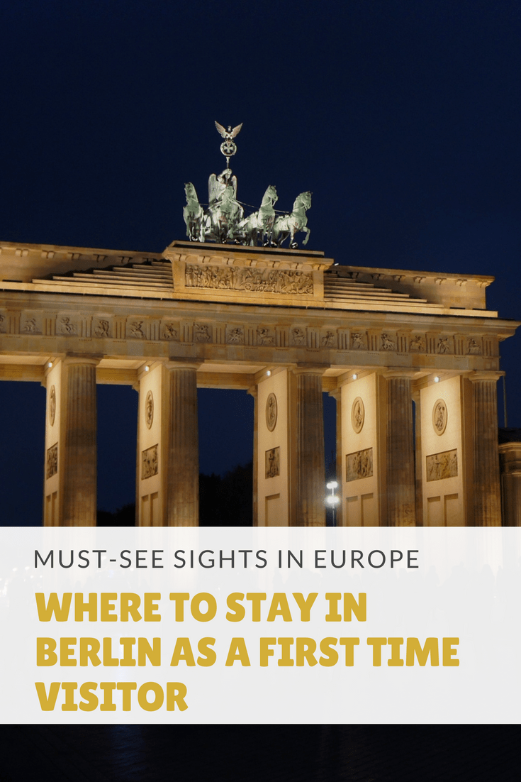 Where to stay in Berlin as a first time visitor