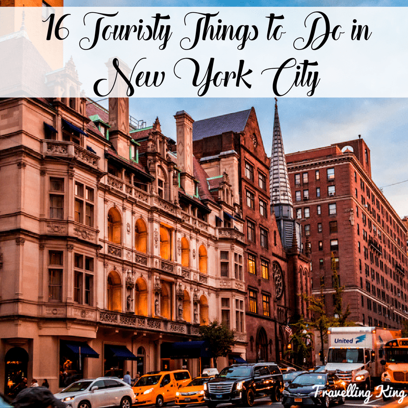 16 touristy things to do in new york city for Thngs to do in nyc