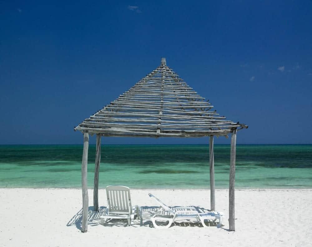 Santa Lucia beach Camaguey Province in Cuba