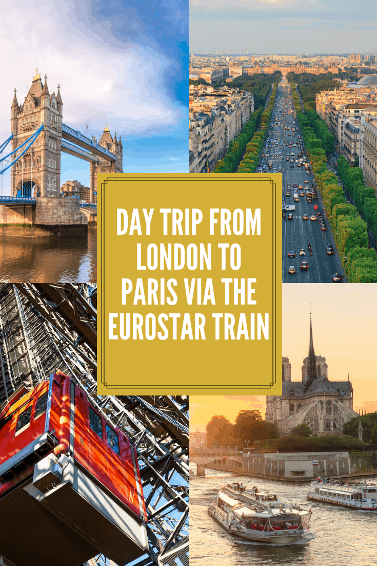 day trip from london to paris