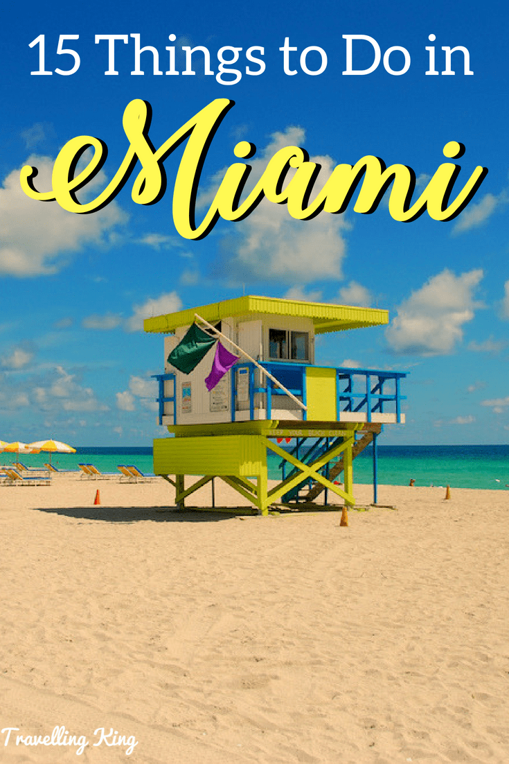 15 Fun Touristy Things to Do in Miami