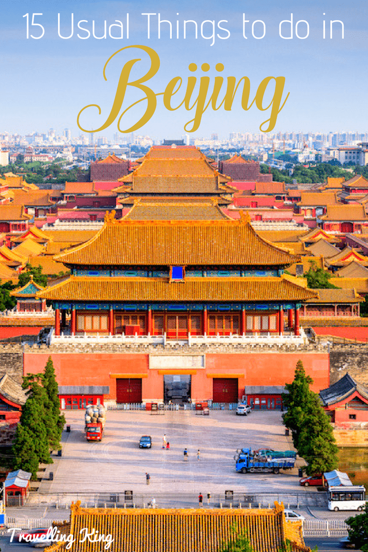 15 Usual Things to do in Beijing