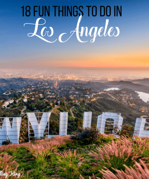 18 Fun Things to do in Los Angeles