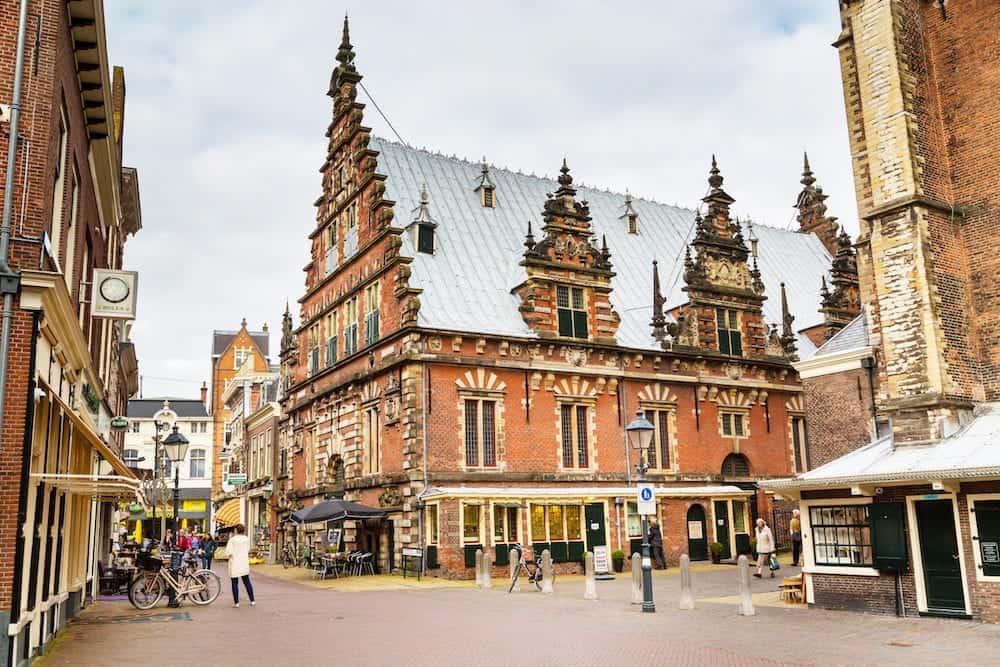 Picturesque beautiful traditional house of De Hallen Museum