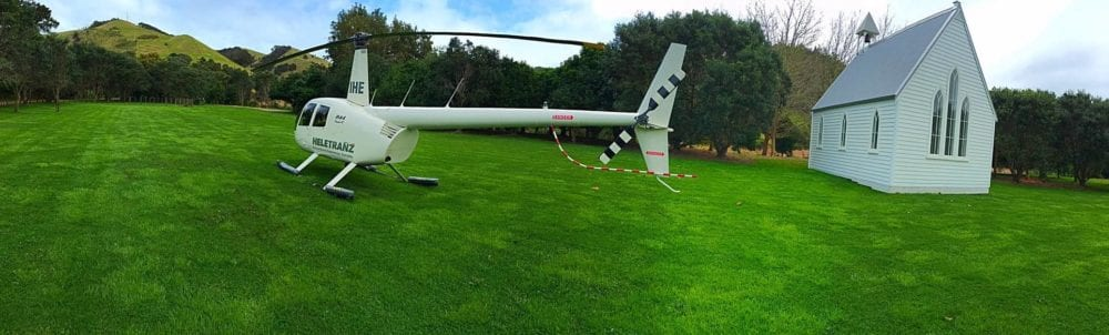Helicopter - Epic 3 day Itinerary for the North Island of New Zealand