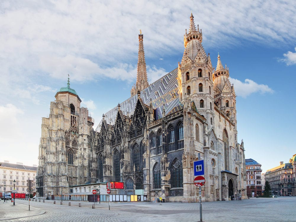Vienna - St. Stephen's Cathedral, Austria at day