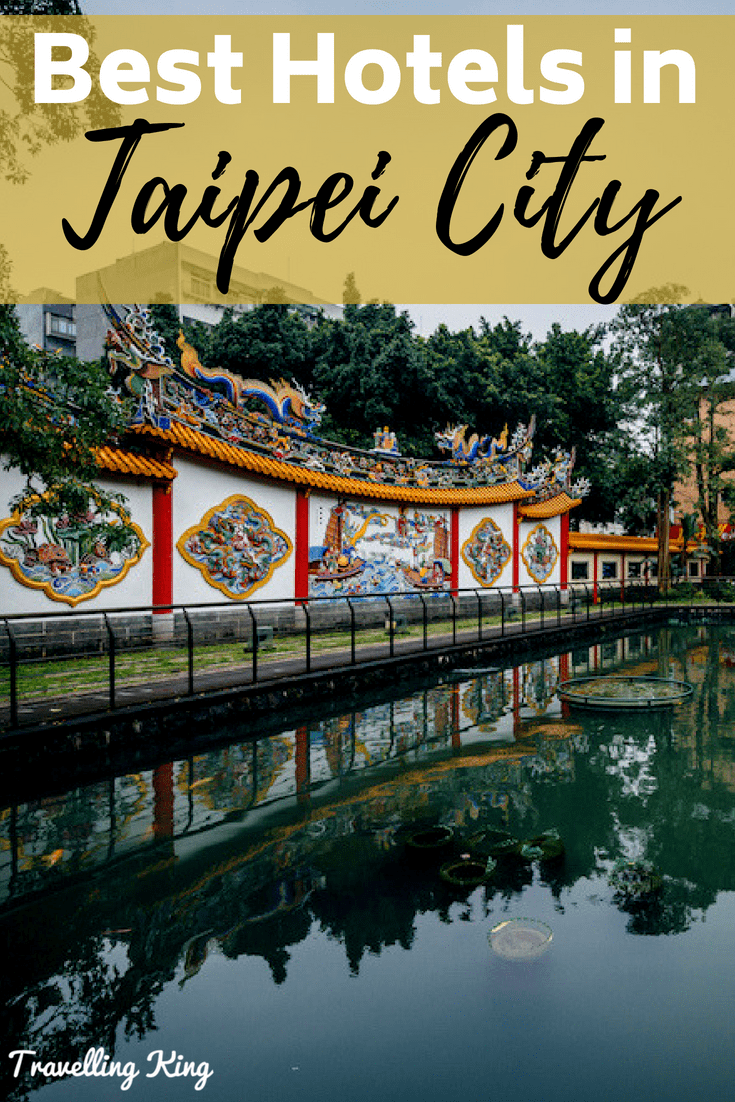 Where to stay Taipei City