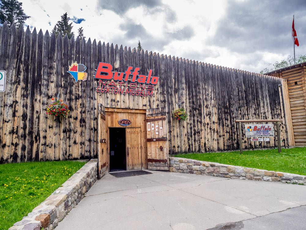 BANFF, ALBERTA - Buffalo Nations Luxton Museum on in Town of Banff. The Buffalo Nations Luxton Museum is dedicated to First Nations of North America and their trading partners.