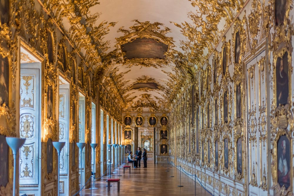 Interior at the Munich Residence, Munich, Upper Bavaria, Bavaria, Germany,