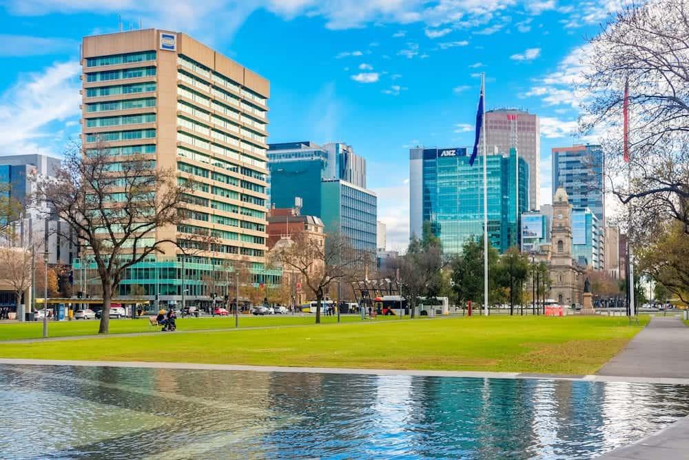Adelaide - Victoria Square fountain