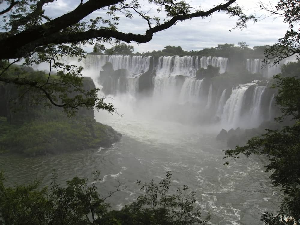 Iguacu waterfalls - Argentina Iguazu Falls is the most visited place in Argentina.