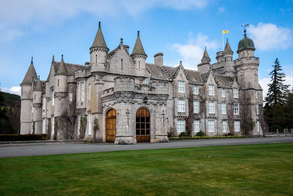 Balmoral, Scotland, Balmoral Castle Queen private residence Scotland