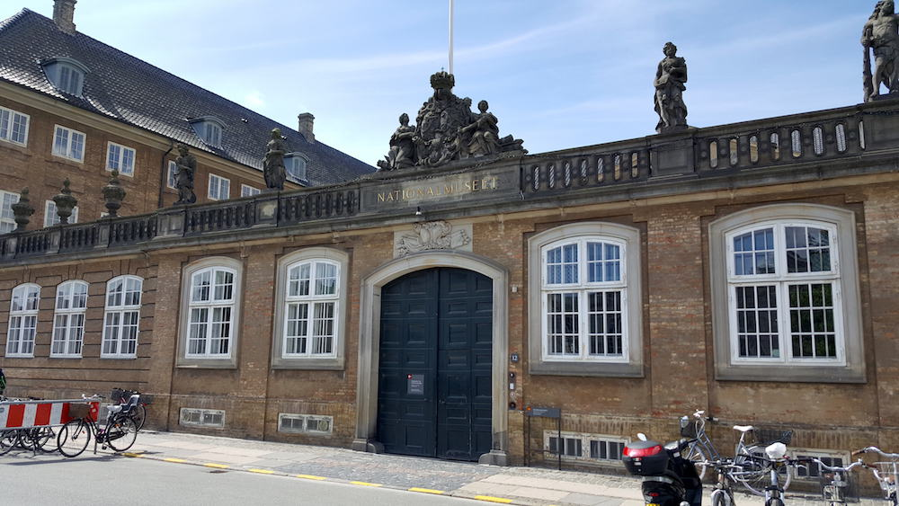 The National Museum of Denmark (Nationalmuseet) in Copenhagen, Denmark