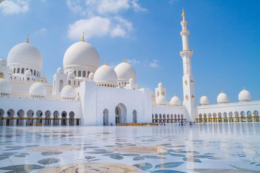 Sheikh Zayed Grand Mosque, Dubai, UAE, mosque.