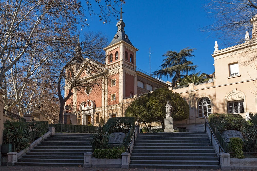 MADRID, SPAIN - Basilica of Our Lady of Atocha in City of Madrid, Spain