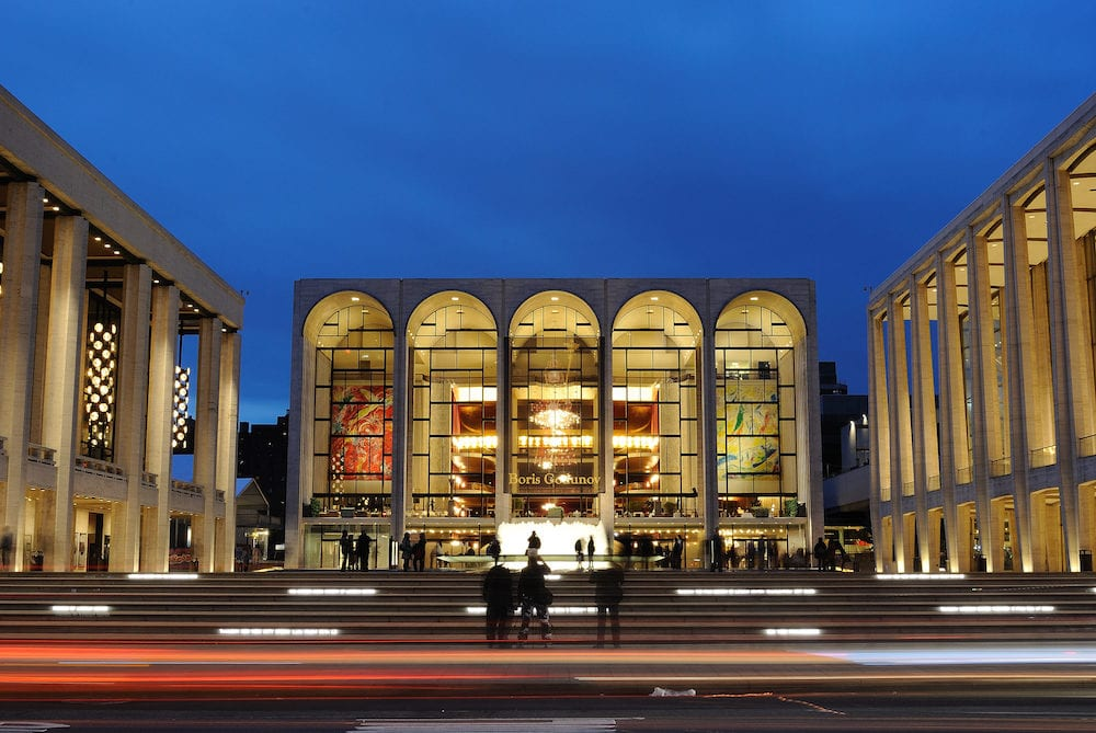 NEW YORK CITY - Metropolitan Opera House at Lincoln Center hosts many world class musicians in New York, New York.