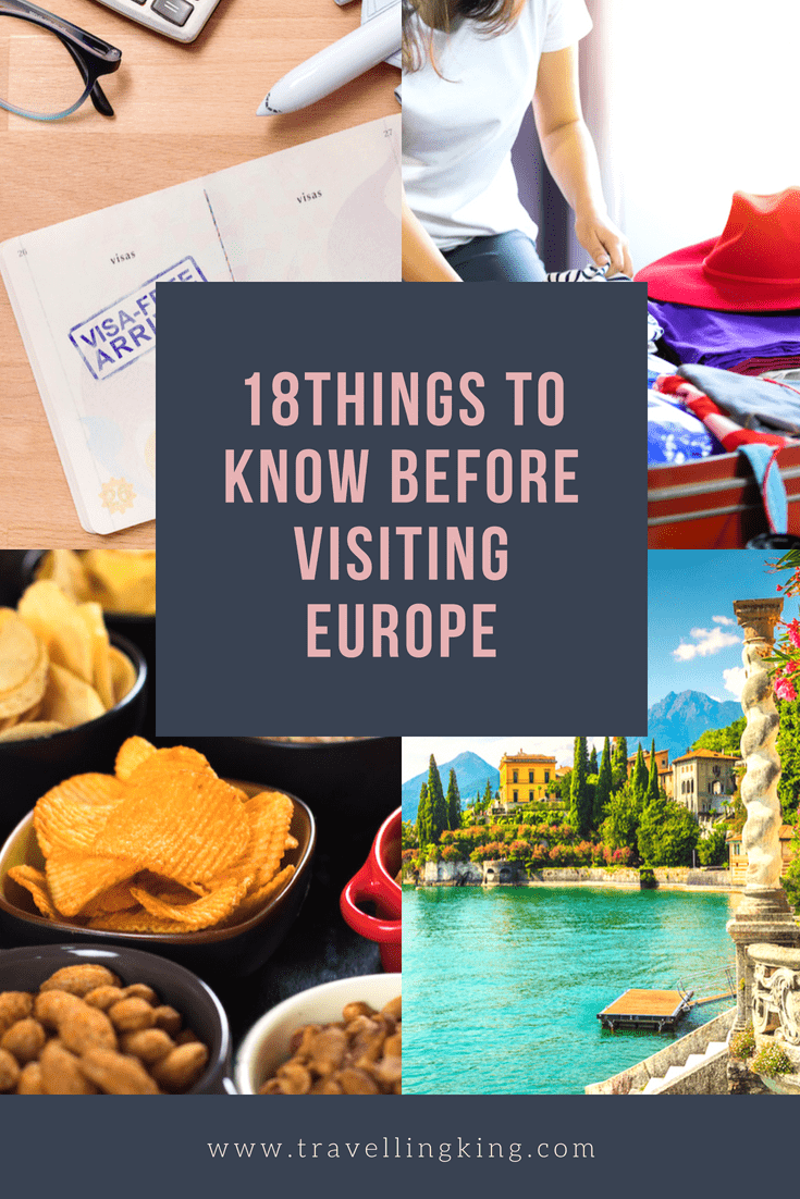 18 Things To Know Before Visiting Europe