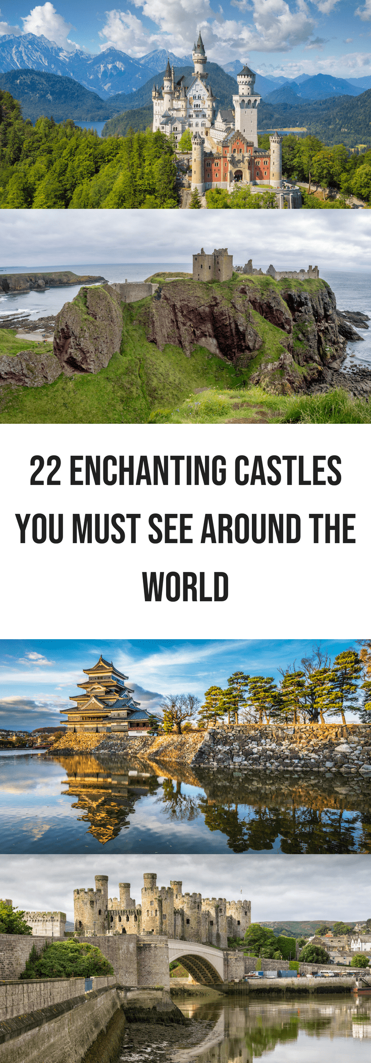 22 Enchanting Castles You Must See Around the World
