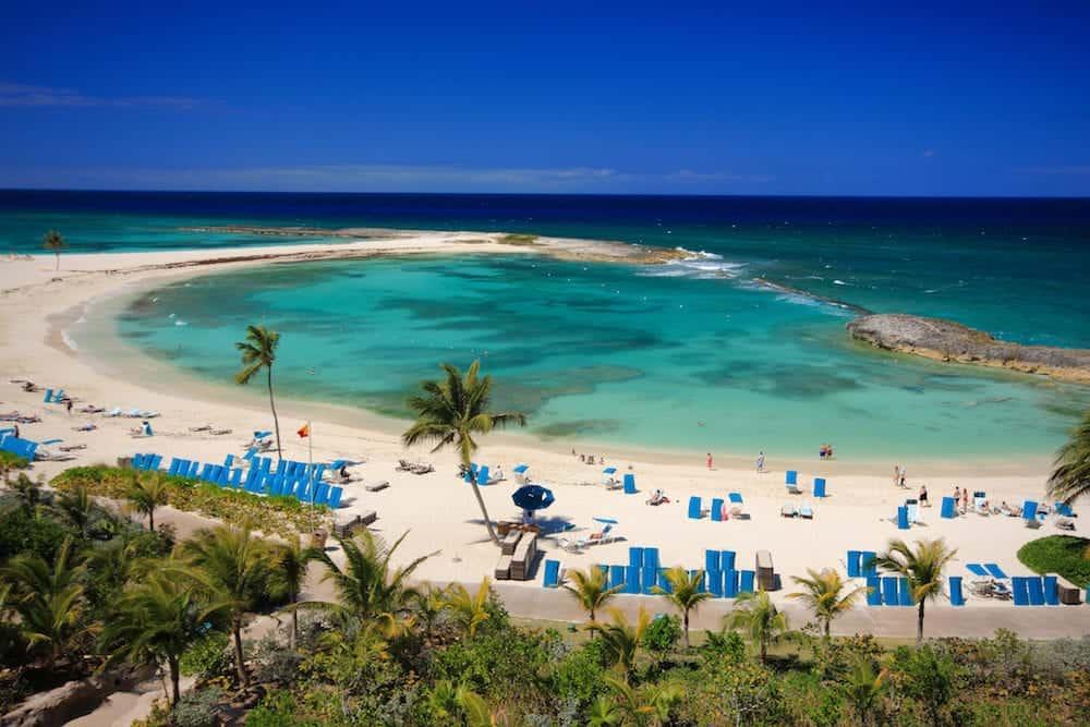 Great Paradise Island in Nassau , Bahamas.