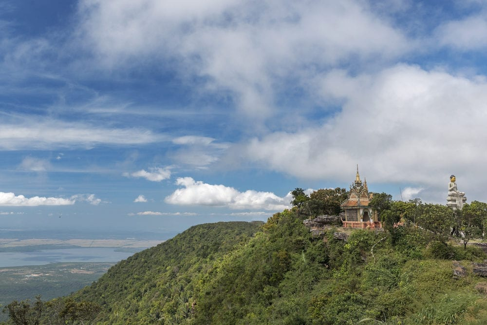 Bokor National Park or Preah Monivong National Park in Cambodia.