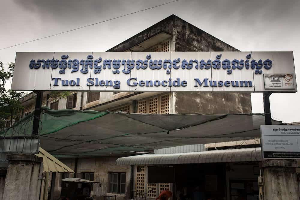 Phnom Penh, Cambodia - Tuol Sleng Genocide Museum in Phnom Penh, Cambodia