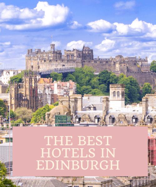 Where to stay in Edinburgh