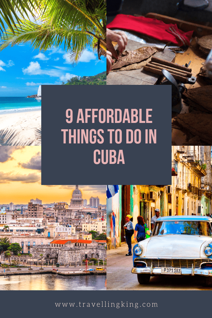 9 Affordable Things to do in Cuba