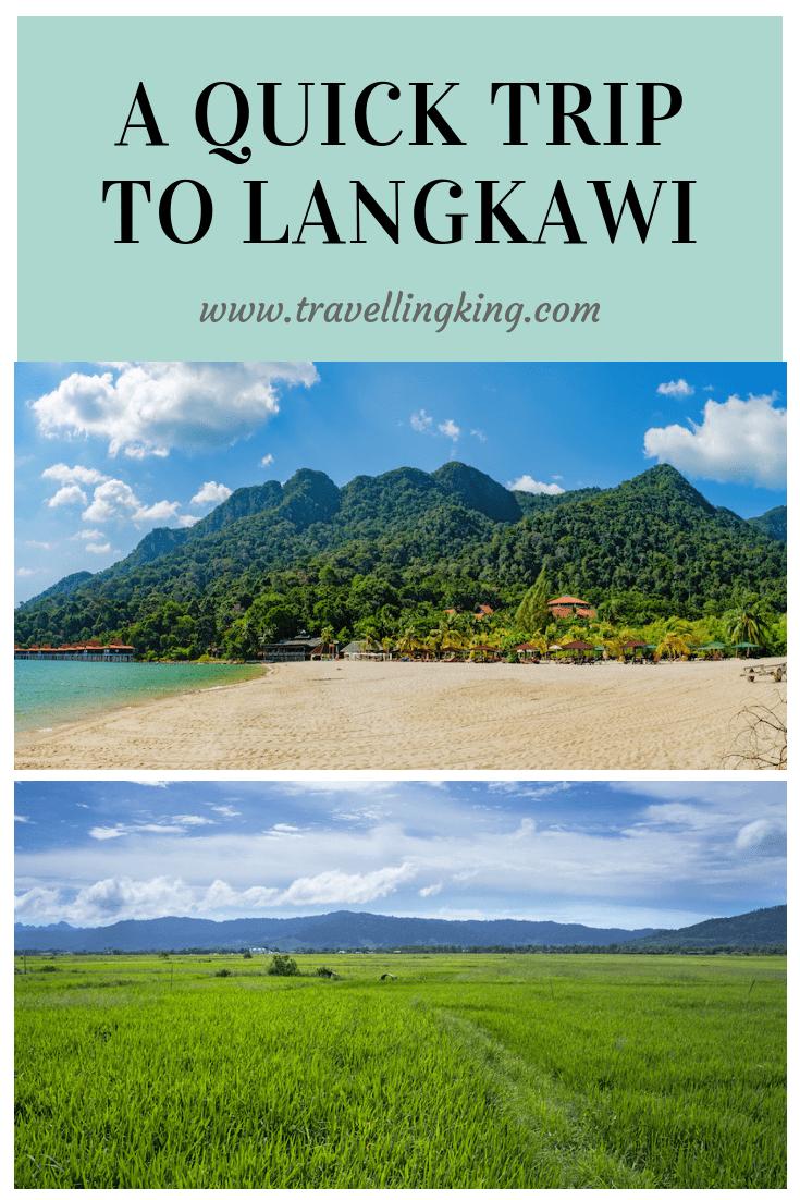 A Quick Trip to Langkawi