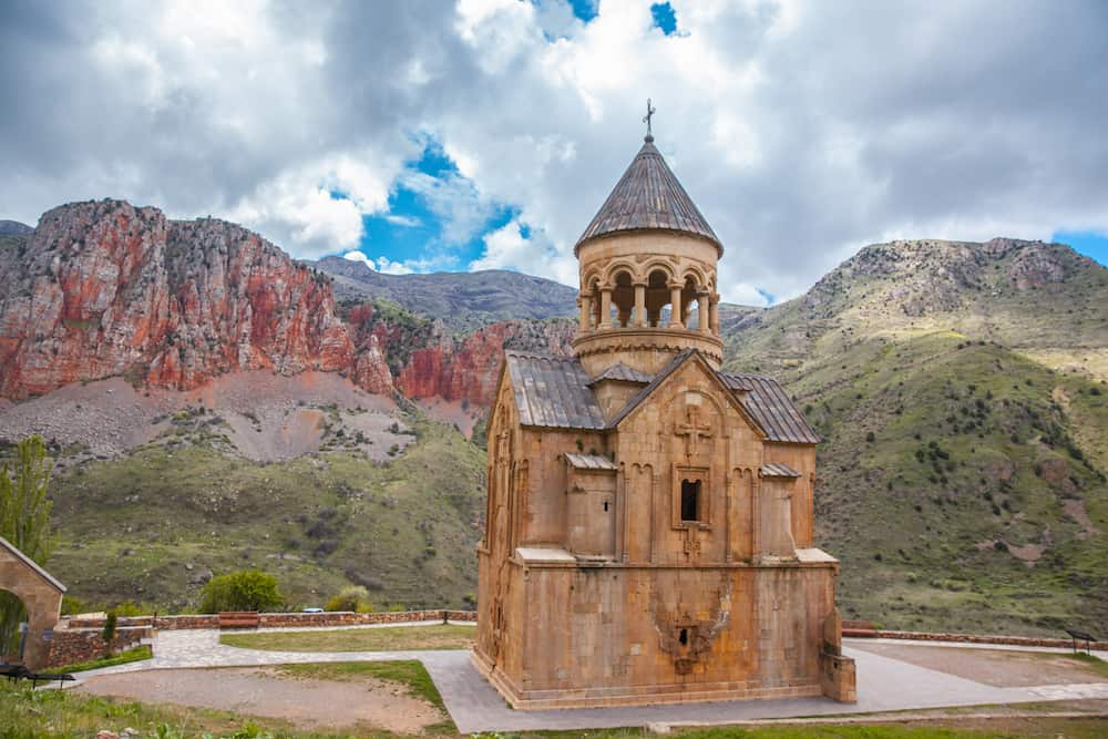 Church of Noravank Monastery in Vayots Dzor, Armenia