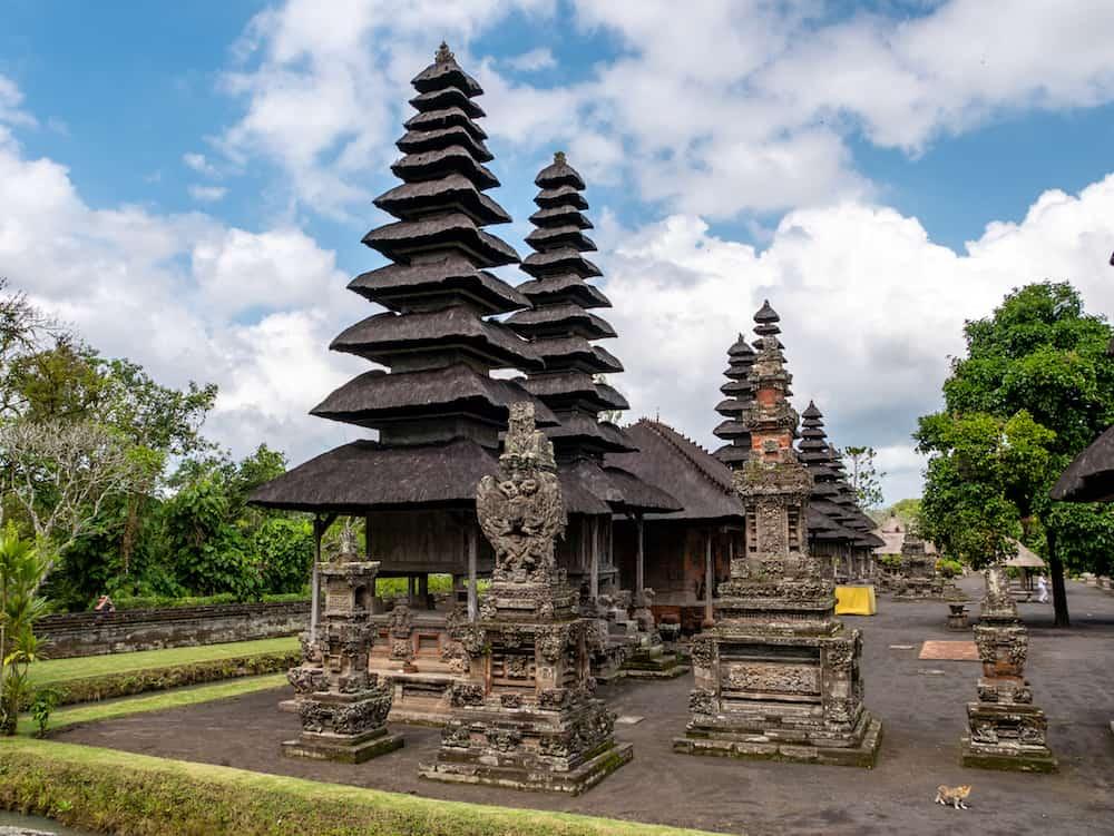 Bali, Indonesia - Photograph of the Hindu temple Pura Taman Ayun