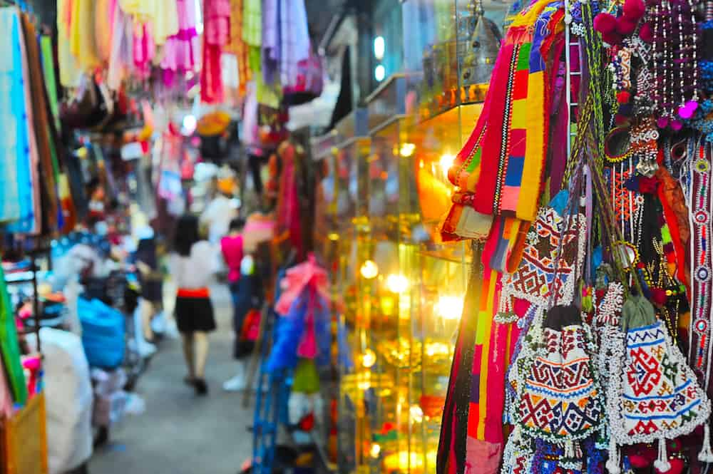 Chatuchak weekend market in Bangkok Thailand. It is the largest market in Thailand.