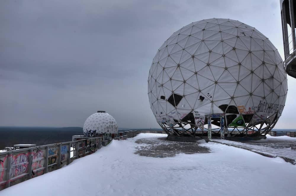 Dome on the Teufelsberg in Berlin germany