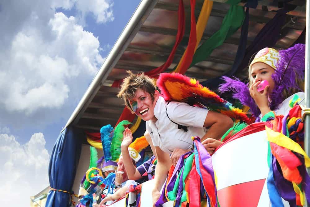 UK, BRIGHTON- GAY PRIDE AUGUST People celebrate gay pride in Brighton