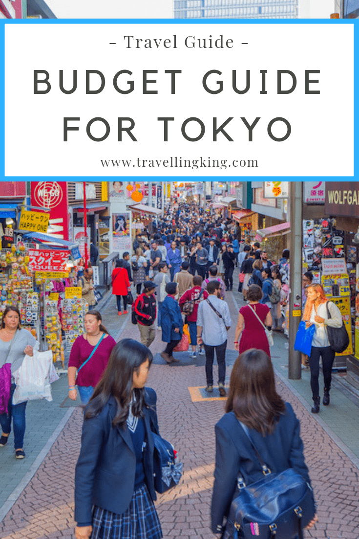 Budget Guide for Tokyo