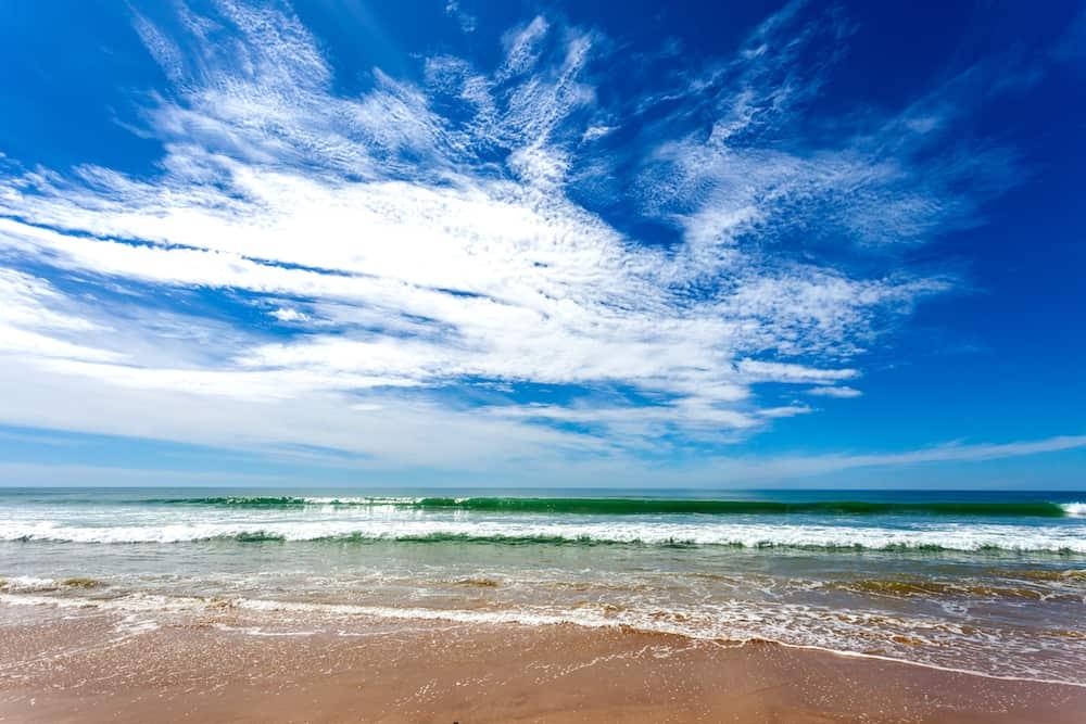 A fantastic beach called beach of Torregorda, Cadiz, Spain
